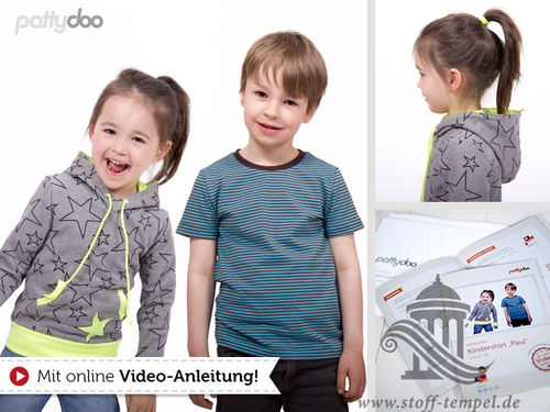 "Pattydoo Schnittmuster Kindershirt ""Paul"""